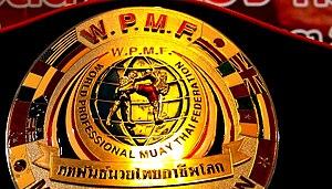 World Professional Muaythai Federation - Champion belt of WPMF