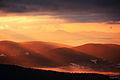 Wschód słońca na Jaworzynie Krynickiej.JPG