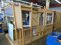 Eine Holzstudie in der Schwebebahnwerkstatt (2013)
