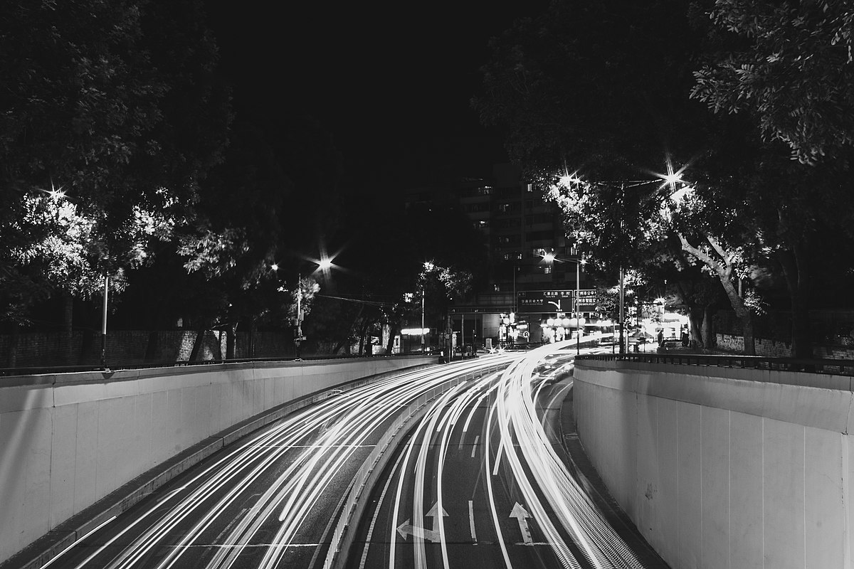 Wushan Road automobile light trails (edited).jpg