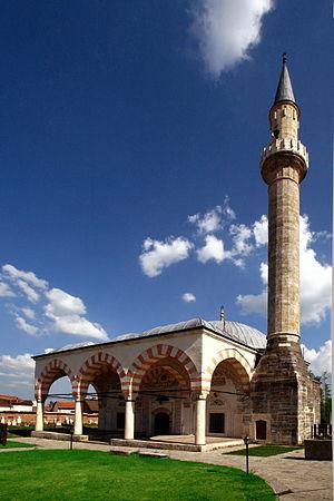Old Bazaar, Gjakova - Hadum Mosque