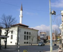 En moské i byen