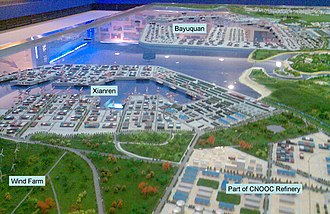 Port of Yingkou - Model of redevelopment at Yingkou Old Port