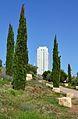 Xiprers i torre de França, València.JPG