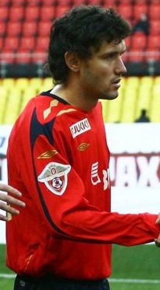 Yuri Zhirkov - Zhirkov playing for CSKA Moscow