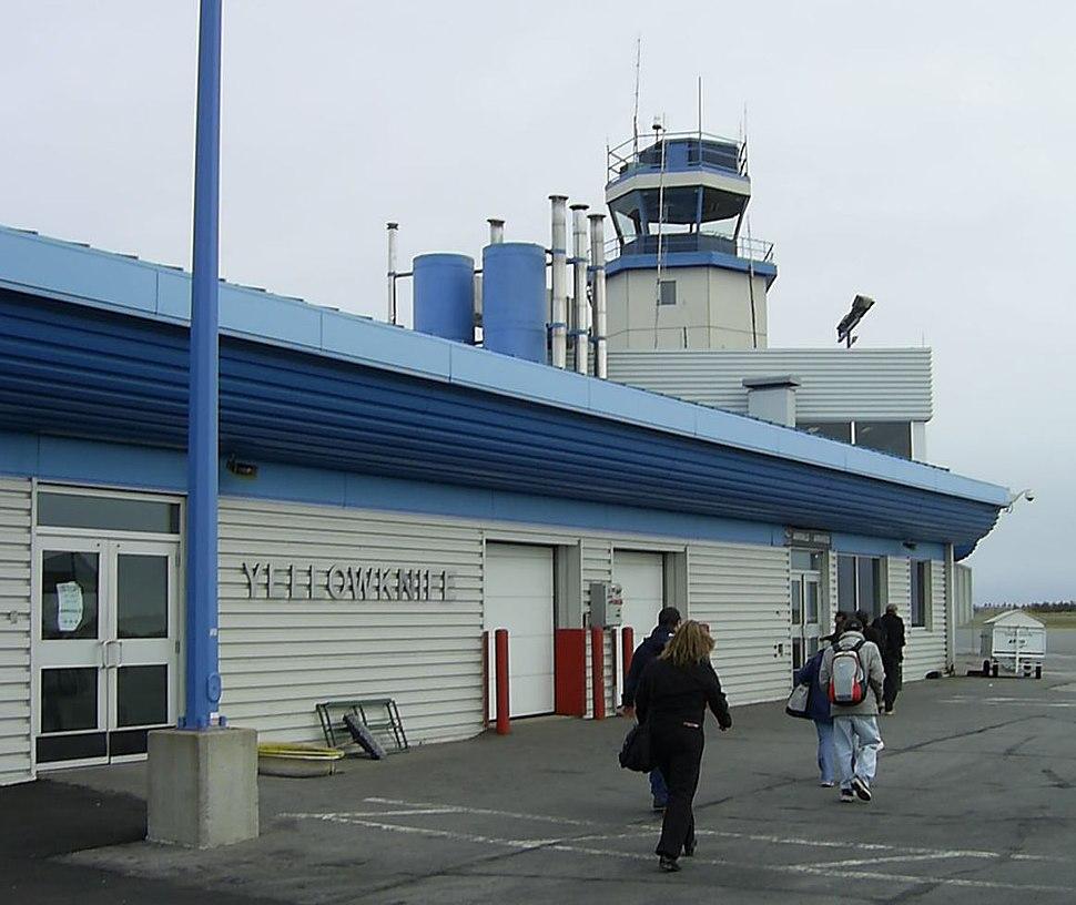 Yellowknife Airport terminal