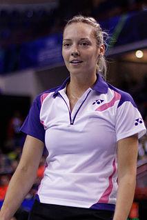 Gabby Adcock English badminton player
