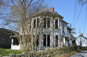 Pikeville, Kentucky - The historic York House, built 1864