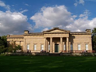 Greek Revival architecture - The Yorkshire Museum designed by architect William Wilkins and officially opened in February 1830