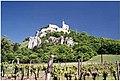 Zřícenina hradu Falkenstein v Rakousku.JPG