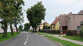 Zaparcin Settlement in Greater Poland, Poland