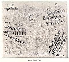 Karikatur von Theo Zasche, 1906 (Quelle: Wikimedia)