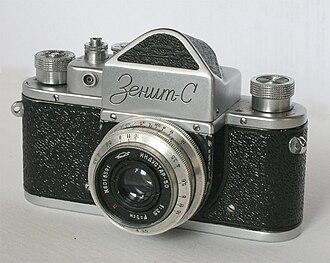 Zenit (camera) - Zenit-S (Synchronized), 1955