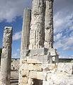 Zeus Tapınağı sütun detayı 2.JPG