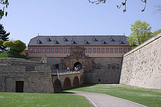 Petersberg Citadel - Image: Zitadelle Petersberg Erfurt Eingang