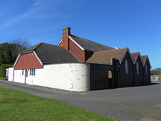 Zoar Strict Baptist Chapel - The chapel was extended to the side and rear in 1874.