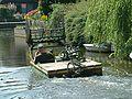 Zoetermeer De Leyens Broekwegwetering Mowing boat (5).JPG