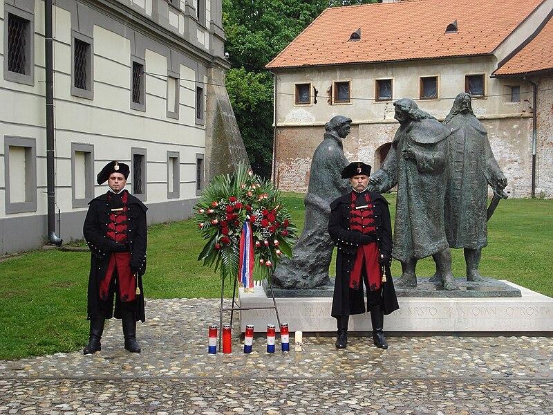 Datoteka:Zrinska garda Čakovec (Croatia) - straža.JPG