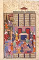 """Birth of Rustam"", Folio from a Shahnama (Book of Kings) MET DT214815.jpg"