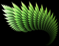 """""""Coniferous"""" - IFS as Attractor type - Chaoscope.png"""