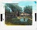 """El Cerritto,"" Edward Larned Ryerson Jr. house, Hot Springs Road, Santa Barbara, California. Pool LCCN2008680093.jpg"