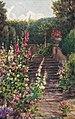 'Italian Garden' at Easton Lodge, by Annie Louisa Pressland 1862-1933.jpg