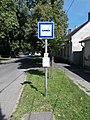 'Sárospatak, gimnázium' bus stop, 2020 Sárospatak.jpg