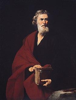 Szent Máté(Jusepe de Ribera festménye, 1632)