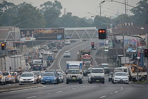 Cumberland Highway - Image: (1)Pennant Hills Road Thornleigh