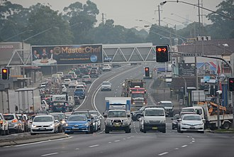 Pennant Hills Road - Image: (1)Pennant Hills Road Thornleigh