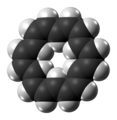 (18)Annulene molecule spacefill from xtal.png