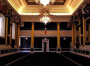 Dublin Castle (St. Patrick's Hall), Ireland