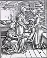 (Three midwives attending to a pregnant woman) (4647710114).jpg
