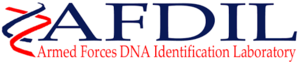 Armed Forces DNA Identification Laboratory - AFDIL Logo.