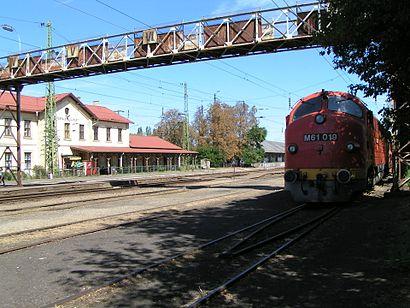 Menetrendek Rákospalota-Újpest Vasútállomás tömegközlekedéssel