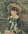 Édouard Manet - Fillette sur un banc (RW 335).jpg