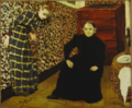Édouard Vuillard, Interior, Mother and Sister of the Artist, 1893, Oil on canvas, 46.3 x 56.5 cm, MoMA, 141.1934.png