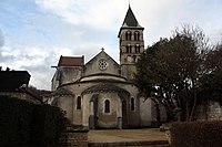 Église Saint Étienne de Vignory - Le chevet.jpg