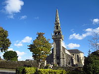 Église paroissiale Sainte-Anne à Kernilis, Finistère 01.JPG