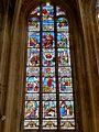 Éve (60), église Notre-Dame, abside, verrière n° 1.JPG