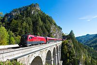 ÖBB Railjet 1116-236 on Krauselklause-Viaduct.jpg