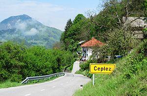 Čeplez - Image: Čeplez Cerkno Slovenia