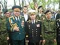 А.Дорофеев, М.Тхагапсов с бойцами военно-патриотического клуба Феникс.JPG
