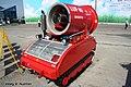 Дистанционно-управляемая мобильная установка пожаротушения LUF-60 - МАКС-2009 01.jpg