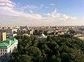 Дом Шереметьева, вид с 13го этажа корпуса больницы Склифосовского.jpg