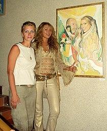 Елена Ильина и Анжелика Агурбаш 2005 Витебск.JPG
