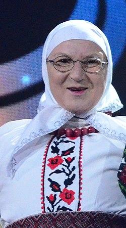 Інна Адольфівна на репетиції Євробачення-2017