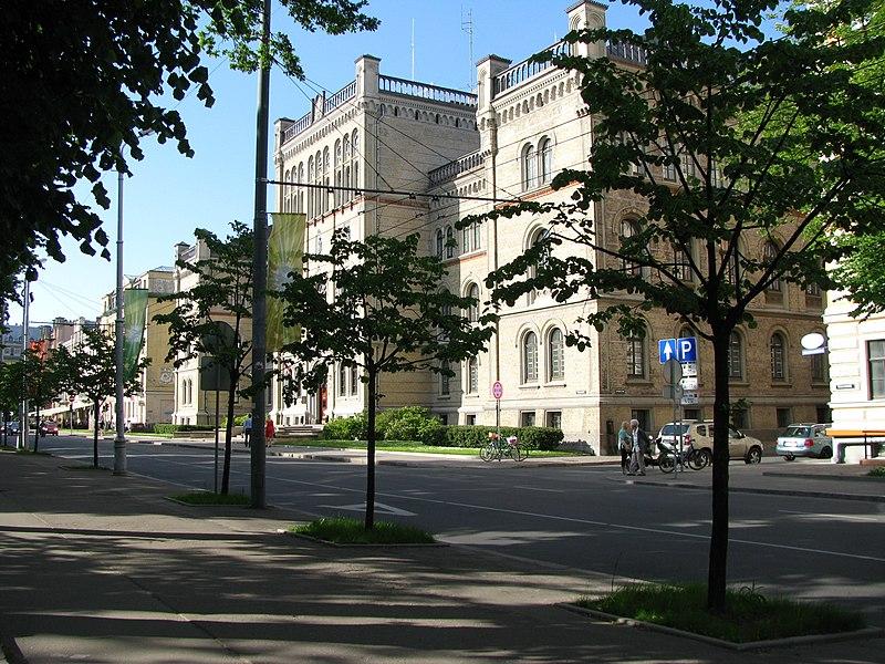 File:Латвийский Университет, Рига, 2012 Latvian University - panoramio.jpg