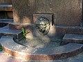 Памятник Лермонтову, маскарон на постаменте.jpg