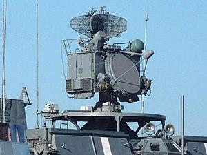 РЛС 3Р95 ЗРК «Кинжал» на БПК проекта 1155, Владивосток, 2011-07-05.jpg